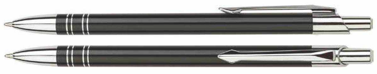 Długopisy metalowe bond - zdjęcie przód i bok
