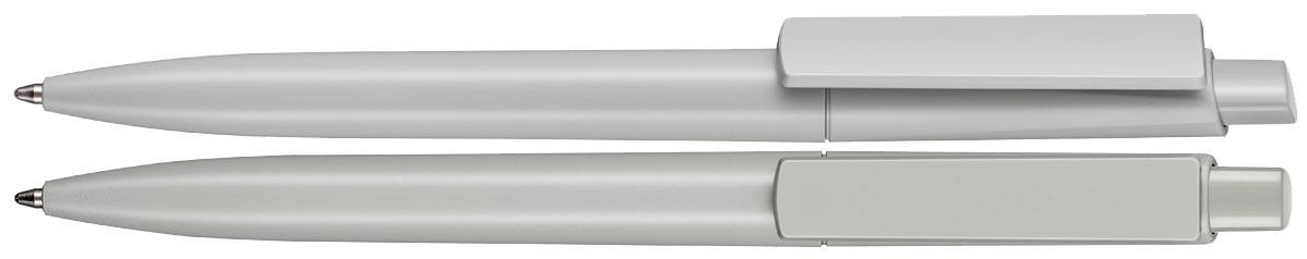 Długopis EKO Crest Recycled - zdjęcie przód i bok