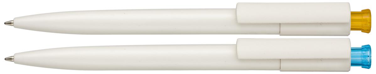 Długopis EKO Organic z celulozy - zdjęcie przód i bok
