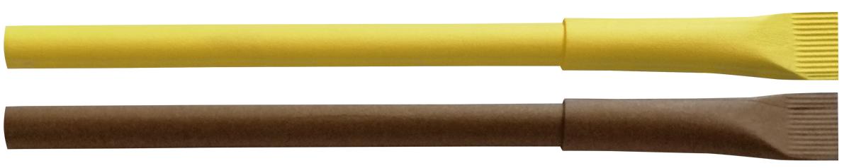 Długopis z papieru EKO Pinko - zdjęcie przód i bok