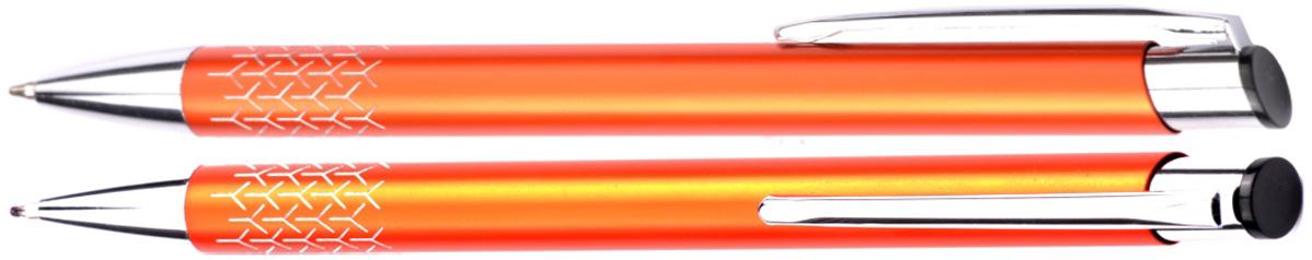 Długopisy metalowe rey - zdjęcie przód i bok