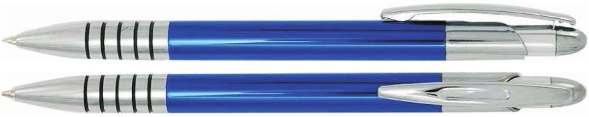 Długopisy metalowe zen - zdjęcie przód i bok