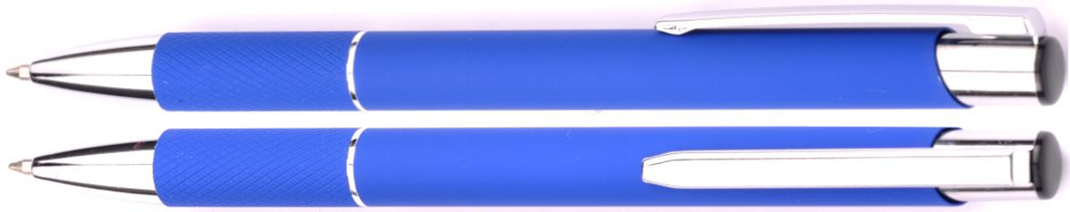 Długopisy metalowe zoe - zdjęcie przód i bok